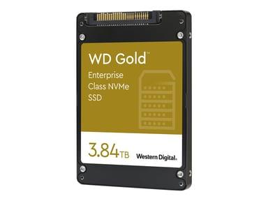 """WD Gold Enterprise-Class SSD WDS384T1D0D 3,840GB 2.5"""" U.2 PCIe 3.1 x4 (NVMe)"""
