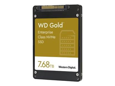 """WD Gold Enterprise-Class SSD WDS768T1D0D 7,680GB 2.5"""" U.2 PCIe 3.1 x4 (NVMe)"""