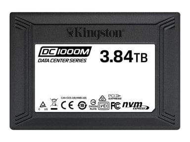 "Kingston Data Center DC1000M 3,840GB 2.5"" U.2 PCIe 3.0 x4 (NVMe)"