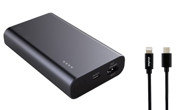 Cirafon POWEBANK FAST CHARGER for iPHONE 10,000milliampere hour 3A Svart