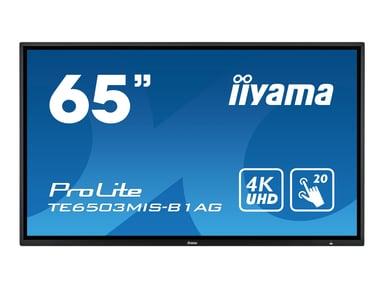 "Iiyama ProLite TE6503MIS-B1AG 65"" 4K UHD 65"" 350cd/m² 4K UHD (2160p) 16:9"