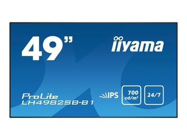 """Iiyama ProLite LH4982SB-B1 49"""" 700cd/m² 1080p (Full HD) 16:9"""