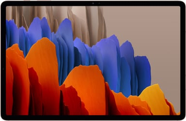 "Samsung Galaxy Tab S7+ 5G 12.4"" Snapdragon 865+ 128GB 6GB Mystisk brons"