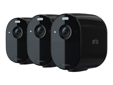 Arlo Essential Spotlight Camera Black 3-pack