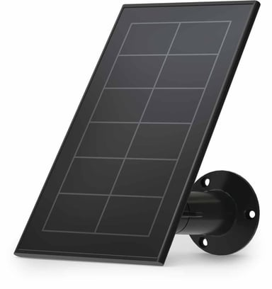Arlo Essential Solar Panel Charger - Musta