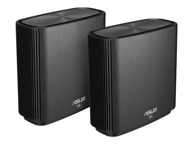 ASUS ZenWiFi AX (XT8) AX6600 2-pakkaus - Musta