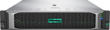 HPE ProLiant DL380 Gen10 - 2x 240GB SSD, redundant PSU & extra RAM Xeon Silver 8 kjerner 64GB