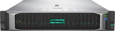 HPE ProLiant DL380 Gen10 - 2x 240GB SSD, redundant PSU & extra RAM Xeon Silver Med 8 kärnor 64GB