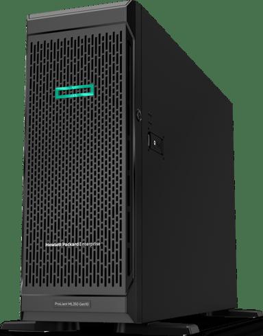HPE ProLiant ML350 Gen10 - 48GB RAM, 2x240GB SSD, redundant power Xeon Silver 10-kerne 48GB