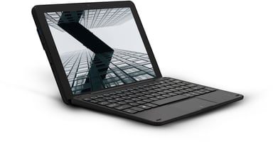 "Lamina LT1034 Win10 Pro + Nordic Keyboard 10.1"" 64GB 4GB Musta"