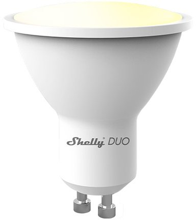 Shelly WiFi LED-bulb Duo GU10