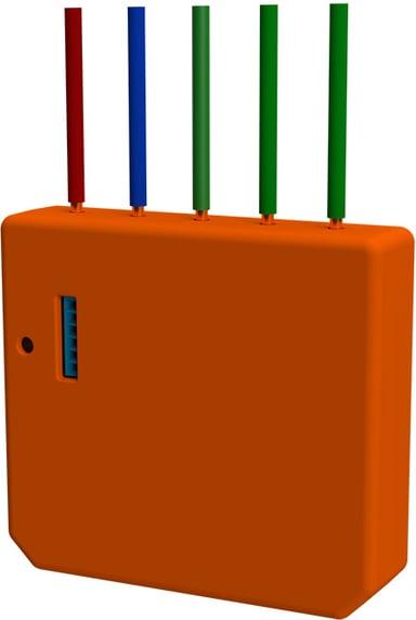 Shelly I3 WiFi styrning för scener och aktivering