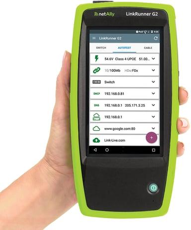 Netally LinkRunner G2 Smart Network Tester
