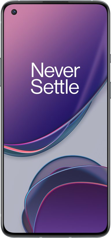 OnePlus 8T 128GB Dual-SIM Månsilver