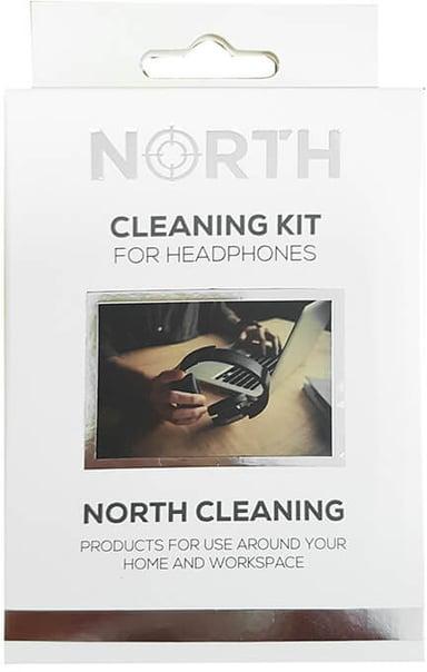North Rengöringskit för hörlurar 2x Vätska 30ml, Borste och Duk