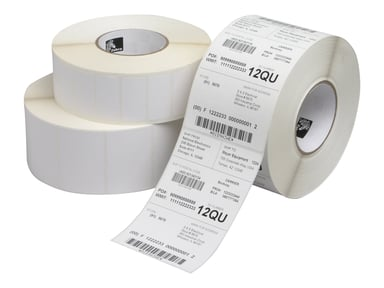 Zebra Labels Z-Perform 1000T 101.6x152.4mm Perf 4-Pack
