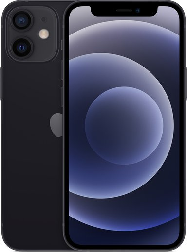Apple iPhone 12 mini 64GB Sort