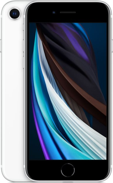 Apple iPhone SE (2020) 128GB Hvid