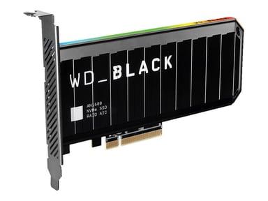 WD Black An1500 2TB Nvme Pcie Gen3 X8 SSD 2,000GB PCIe-kortti PCI Express 3.0 x8 (NVMe)