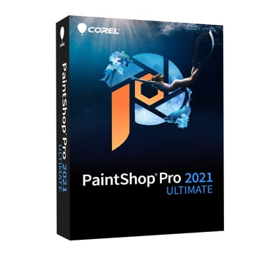 Corel Paintshop Pro 2021 Ultimate Windows Engelsk Mini-Box
