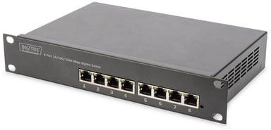 """Digitus DN-80114 8-port Gigabit 10"""" Switch"""