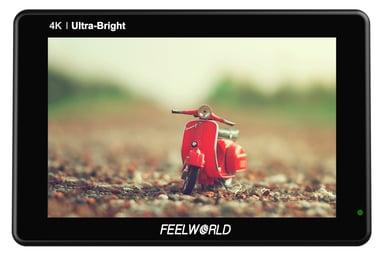 """FEELWORLD Monitor LUT7S 7"""" med SDI"""