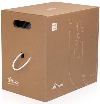 Ubiquiti Bulk Cable CAT 6 Ikke afskærmet parsnoet (UTP) Hvid 305m