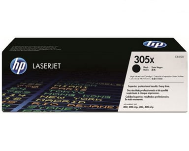 HP Toner Sort 305X 4K - CE410X
