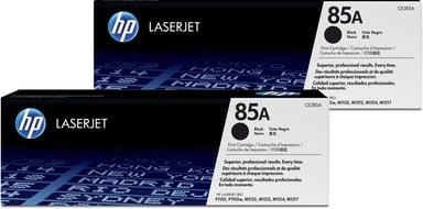 HP Toner Sort 85A 1.6K - CE285AD 2-Pack