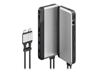 Alogic USB-C Super Dock Thunderbolt 3 Mini-dockningsenhet
