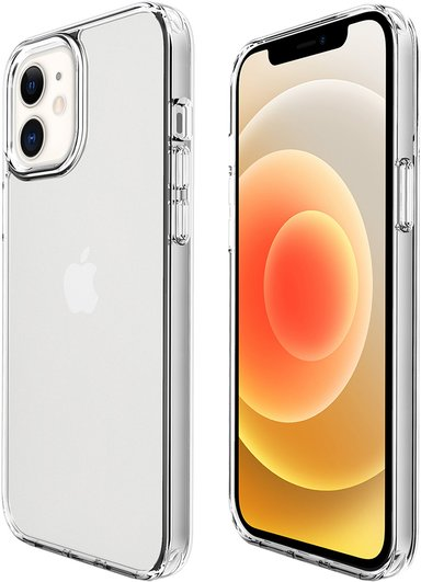Cirafon Slim Case Thick iPhone 12 iPhone 12 Pro Klar transparent