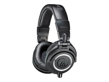 Audio-Technica ATH M50X #demo Musta