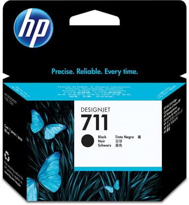 HP Blekk Svart 711, 80ml - DJ T120