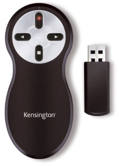 Kensington Si600 Wireless Presenter with Laser Pointer Zwart