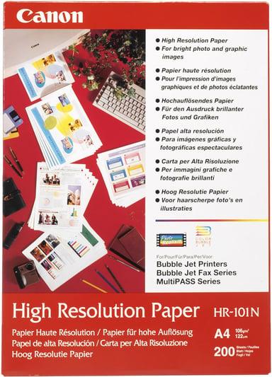 Canon Papper High Resolution HR-101N A4 200-Ark 106g