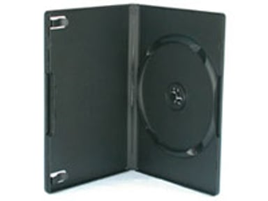Sidewalk DVD Case Box Hq For 1st DVD Black 104-Pack