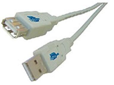 Microconnect USB-Forlengelseskabel 1.8m 4-pins USB type A Hann 4-pins USB type A Hunn