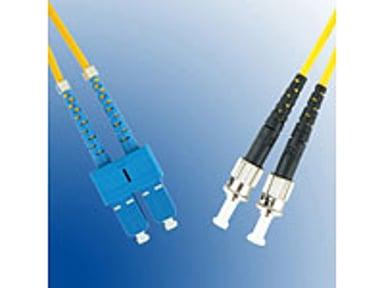 Microconnect Fiberoptisk kabel SC/PC ST/UPC OS1 5m 5m