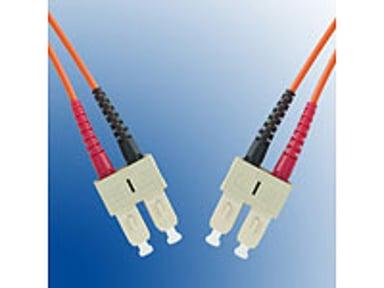 Microconnect Optisk fiberkabel SC/UPC SC/UPC OM3 10m 10m