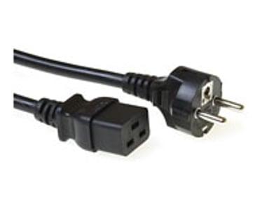 Microconnect Strömkabel 2.5m Ström IEC 60320 C19