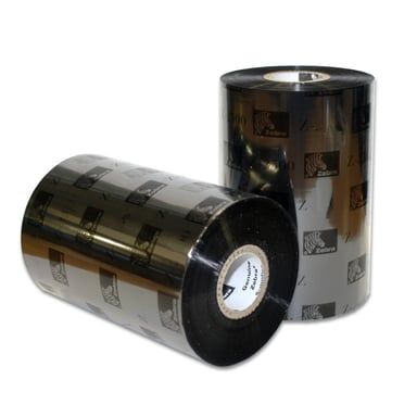 Zebra Färgband 3200 Wax/Resin Premium 64m x 74m 12-Pack
