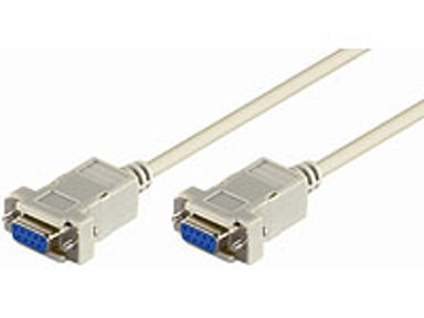 Microconnect Serielt kabel 2m 9-pin D-Sub (DB-9) Hun 9-pin D-Sub (DB-9) Hun