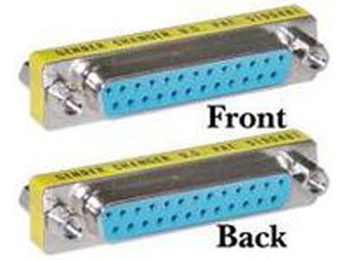 Microconnect Adapter 25 pin D-Sub (DB-25) Hona 25 pin D-Sub (DB-25) Hona