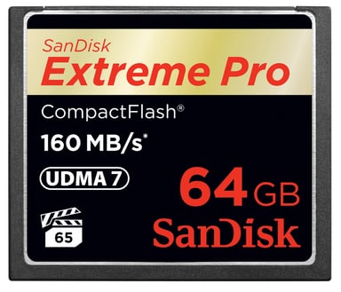 SanDisk Extreme Pro 64GB CompactFlash-kort