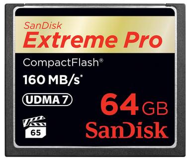 SanDisk Extreme Pro 64GB CompactFlash-kortti