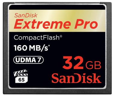 SanDisk Extreme Pro 32GB CompactFlash-kortti