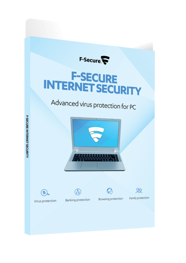 F-Secure Internet Security 1 år 3-enheter Box OEM Attach null