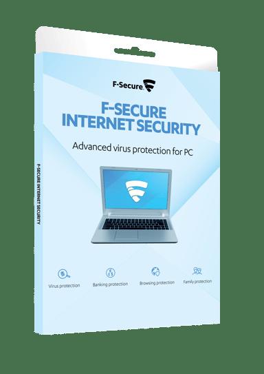 F-Secure Internet Security 1 vuosi 3-laitetta Box OEM Attach