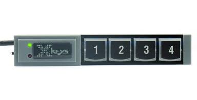 Direktronik XKeys Xk4 USB Stick Keys With 4 Programmable Keys Kabelansluten
