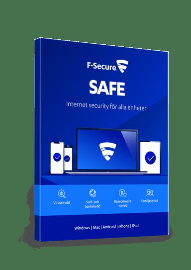 F-Secure SAFE 1 år 3-enheter Box